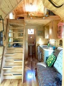 Small Homes On Wheels nicki s colorful victorian tiny house after one year
