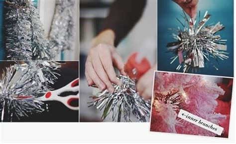 used string tinsel ideas how to fill in bare spots on your tree 171 ideas wonderhowto