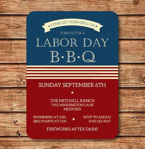 vintage memorial day barbecue invitation royalty free cliparts