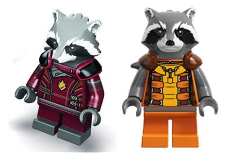 Exklusif Lego Minifigures Panda Suit Limited sdcc 2014 lego rocket raccoon s warbird set revealed marvel news