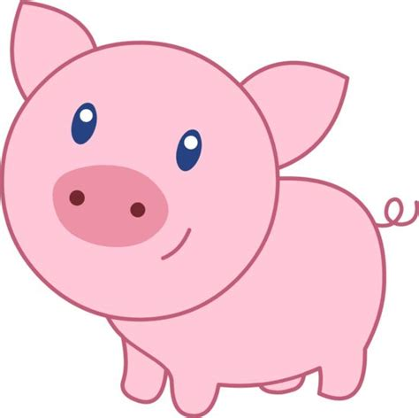 wallpaper pink pig http sweetclipart com cute happy pink pig 1820 clipart