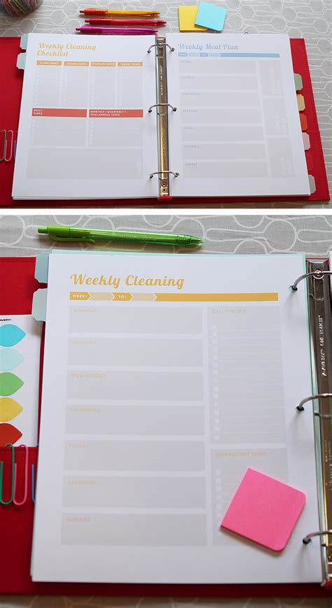 home organization plan project organize your entire life 2016 planner printables
