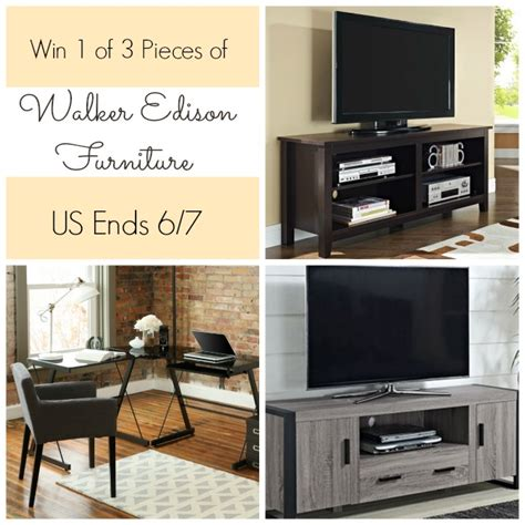 Furniture Giveaway by Enter To Win A Of Walker Edison Furniture