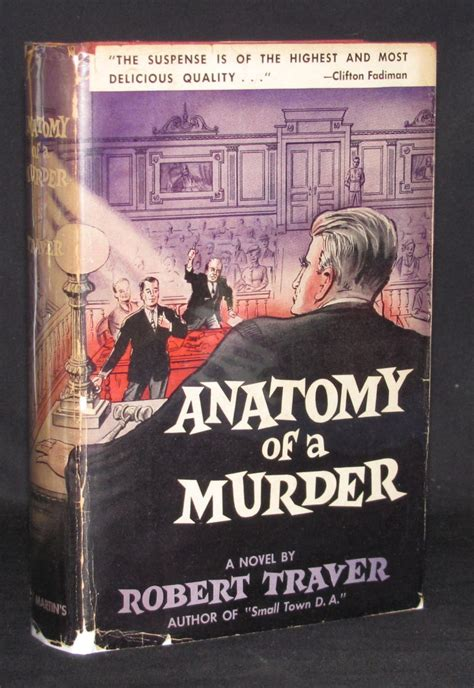 anatomy for conformity classic reprint books anatomy of a murder by robert traver 1958