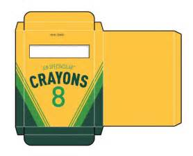 crayon box template free crayon box template printables h 252 llen