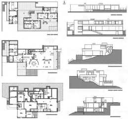 Villa Tugendhat Floor Plan Mies Van Der Rohe Villa Tugendhat Plans And Elevations