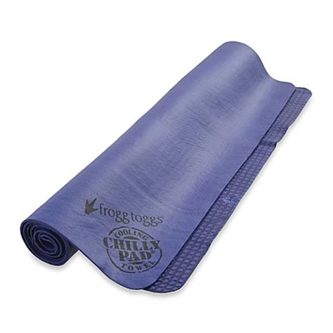 cooling towel bed bath and beyond buy frogg toggs chilly pad 174 super cooling towel from bed