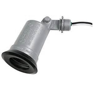 outdoor light socket hubbell taymac lt100s standard outdoor flood light