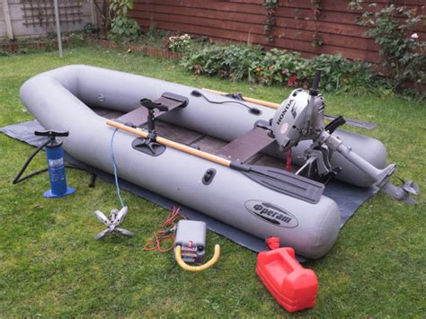 inflatable boats with outboard pvc inflatable boat with outboard motor and accessory for