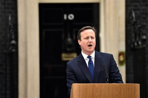 No Between Cameron And by David Cameron Presents General Election As Stark Choice