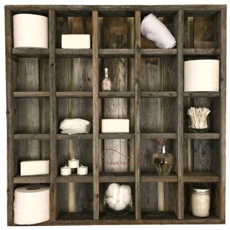 buy large reclaimed wood wall 25 cubby cubby display