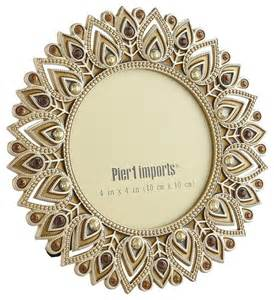 Pier One Room Dividers - golden peacock feather frame contemporary picture frames by pier 1 imports