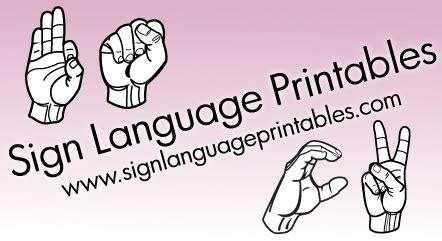 printable sign language flashcards for toddlers savetz publishing