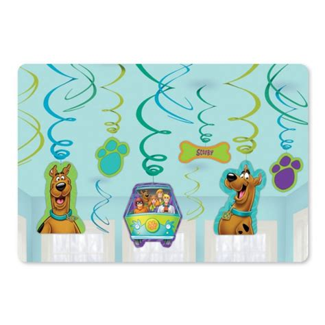 Scooby Doo Baby Shower Decorations by Scooby Doo Hanging Decorations Free Delivery