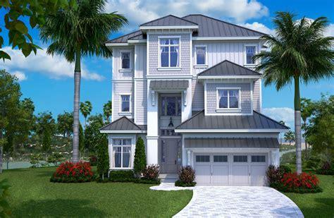beachfront house plan    bedrm  sq ft home