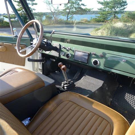 custom ford bronco dash and interior ford bronco