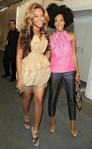 Beyonces Sibiling Rivalry by Beyonce Solange 4 The Of Black
