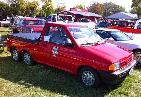 1991 ford festiva 1991 ford festiva information and photos momentcar