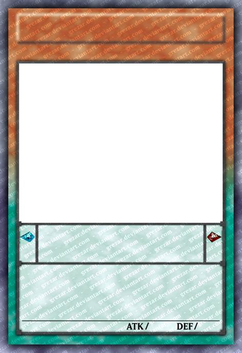 anime yugioh card template yu gi oh card template hd version 2 by celticguard on