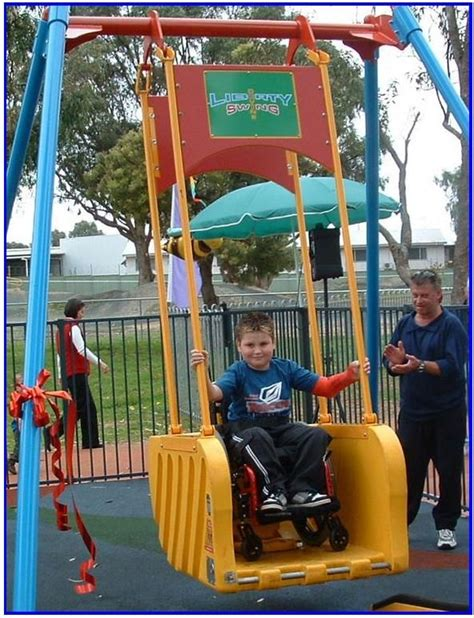 liberty swing the liberty swing is a new concept in playground equipment