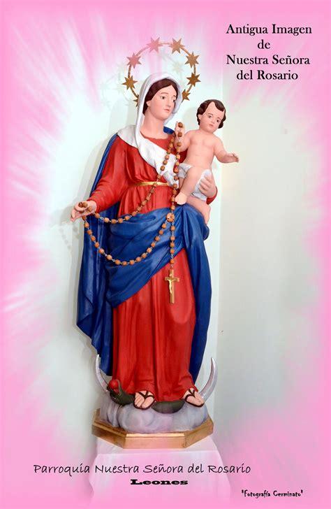 virgen del rosario parroquia leones gabitos