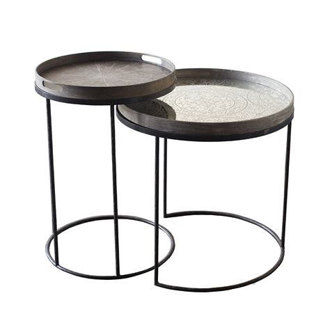 tray tables buy notre monde round tray table amara
