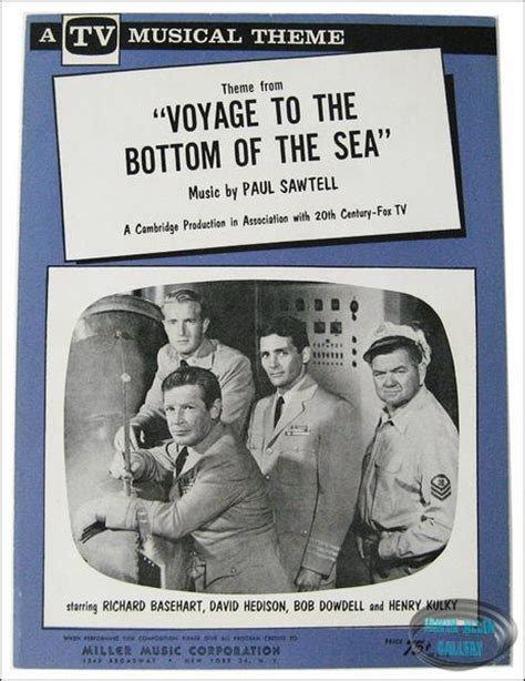 theme song voyage to the bottom of the sea sheet music 1964