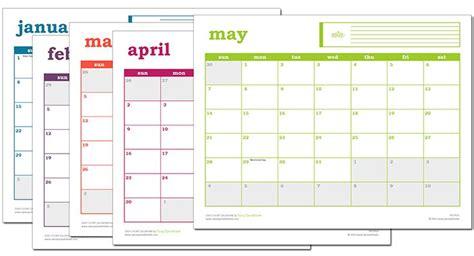 easy event calendar excel template printable