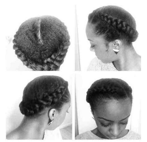 goddess braid easy protective style black hair