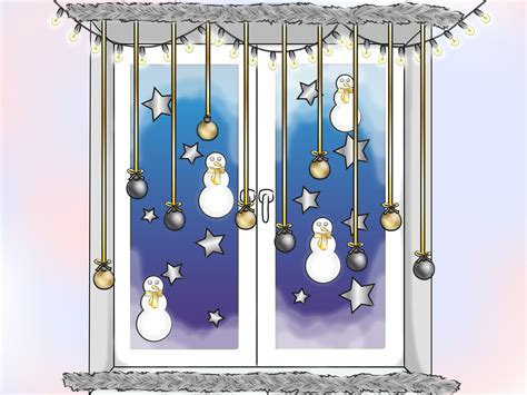 winter window decorations how to make winter window decorations 10 steps with