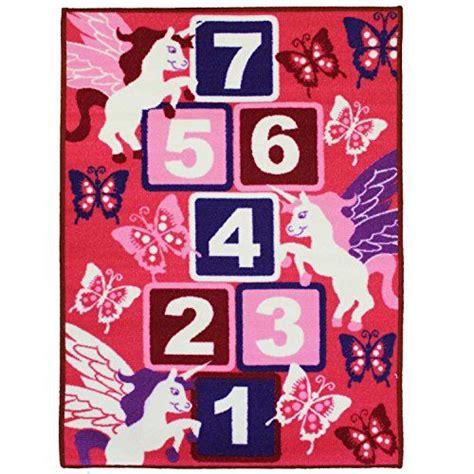 Playmat Bermain Animal Hopscotch Baterai jvl hopscotch pink childrens play mat nursery playroom bedroom 80 x 110 cm jvl http