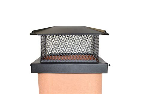 Fireplace Cap by Premium Black Chimney Caps