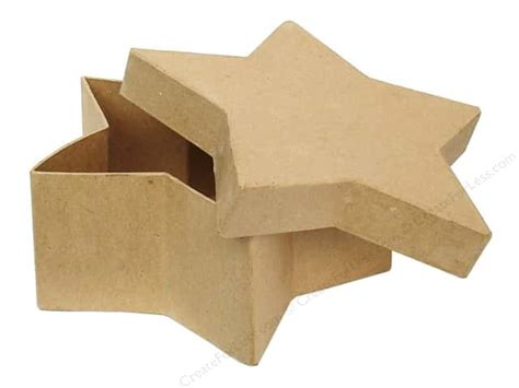 Craft Paper Mache Boxes - paper mache box 7 1 2 in by craft pedlars 12 pieces