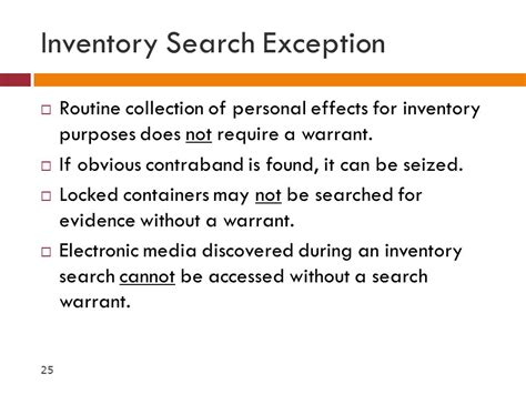 Exceptions To A Search Warrant Computer Forensics Bacs Ppt