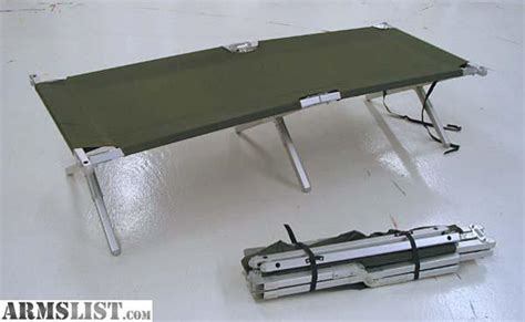army cot bed armslist for sale military cot bed army