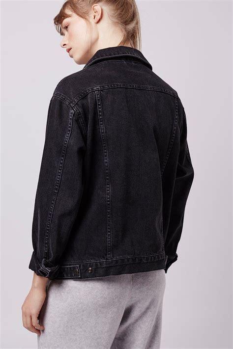 jacket moto moto oversized denim jacket jackets coats clothing
