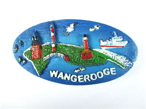 Souvenir Germany Magnet Kulkas Germany wangerooge polyresin magnet germany germany souvenir new ebay