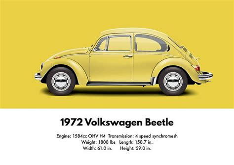 volkswagen yellow beetle vw beetle 70 s a collection of other ideas to try cars