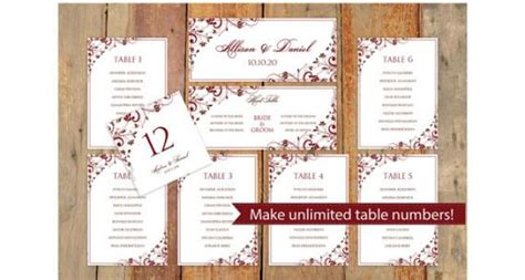 wedding seating chart template word wedding seating chart template instantly
