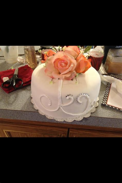 Wedding Cakes Small Simple by Small Simple Wedding Cake Cakecentral