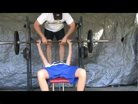 13 year old bench press 13 year old ian greer bench presses 133 lb youtube