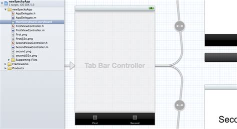 xcode layout navigation bar getting started building iphone apps in xcode 4 2