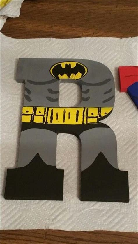 Letter Batman 77 Best Images About Boys Room On Batman Bedroom Room And Wooden Letters