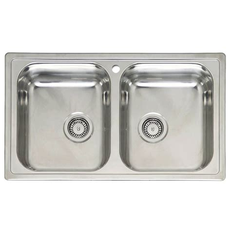 Two Bowl Kitchen Sink Reginox Diplomat 20 Bowl Sink Sinks Taps