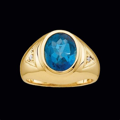 large s gemstone ring