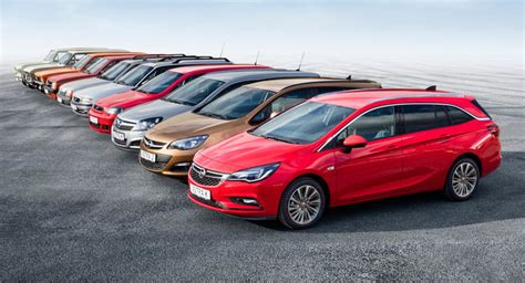 opel astra all models a brief history of opel s compact station wagons
