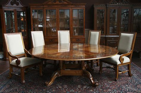 Circular Dining Room Table | large round dining table 84 round dining table round