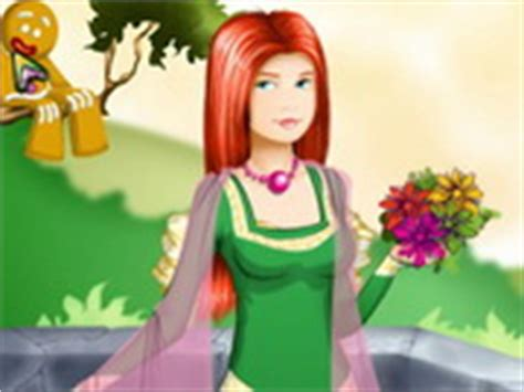 Gamis Fiona shrek princess fiona play the free