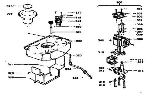 comfort glow parts sears comfort glow kerosene heater fuel system parts