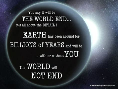 the world will not end up quotes